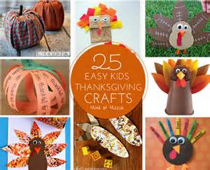 Easy Thanksgiving Paper Crafts - 25 easy thanksgiving crafts modern