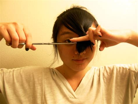 trimming bangs at an angle cut how to cut hair 53 latest haircuts hairstyle for women