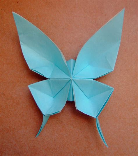 How To Make A Paper Origami Butterfly - origami butterfly origami swallowtail origami
