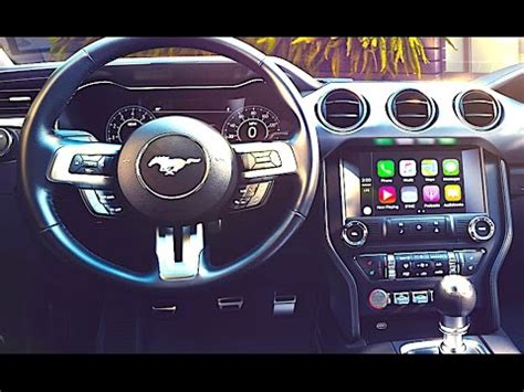 new ford mustang interior 2018 video ford mustang driving