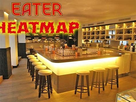 eater heat map the eater heatmap where to eat right now eater