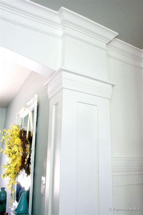 interior column trim ideas 78 best columns and trim work images on home