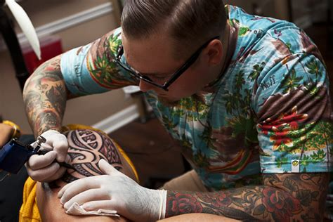 michigan tattoo shops a canvas of flesh artists bring skill to