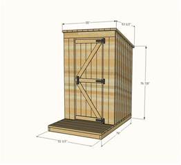 outhouse floor plans ana white let s build something