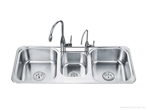 Triple basin kitchen sink   OD 11048B   OUERT (China