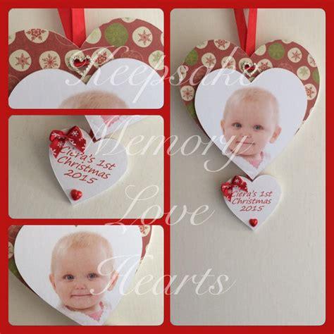 baby s 1st christmas keepsake gift personalised for girl