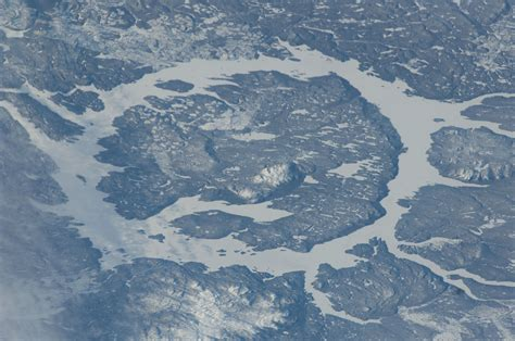 Nasa Space Pictures by File Iss 30 Manicouagan Reservoir In Quebec Canada Jpg