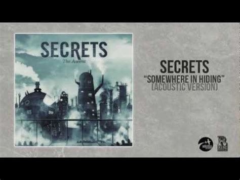 secret we the acoustic the secrets release acoustic version of somewhere