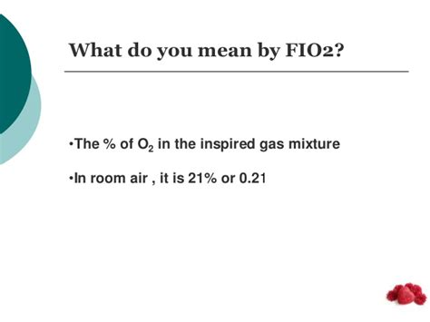 room air fio2 arterial blood gas analysis in respiratory disorders