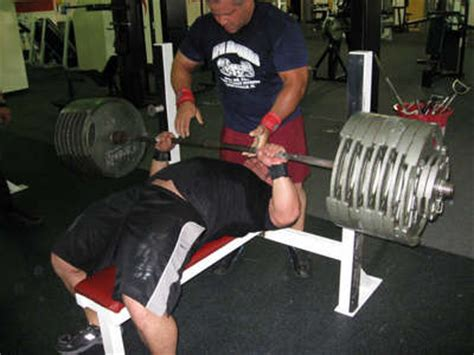 raw bench press record by weight class interview with bench press freak jeremy hoornstra