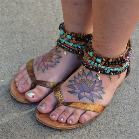 foot tattoo not healing 100 best foot tattoo ideas for women designs meanings