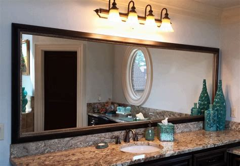 Frame An Existing Bathroom Mirror by 14 Best Frame It Mirror Designs Images On