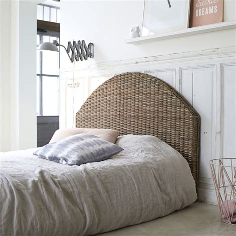 Wicker Headboards For Beds by Rattan Bed Headboard For 140x190 Bed Modern Design Bedroom