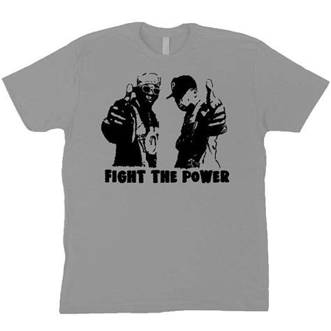 Tshirt Flava 2 enemy flavor flav chuck d fight the power grey