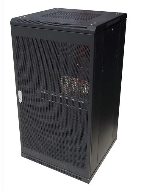 Pdu In Server Rack by Linkbasic 22ru 800mm Depth Server Rack Mesh Door W 4x240v