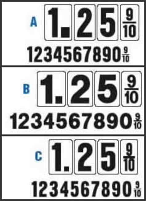 gas price: zip gas price numbers