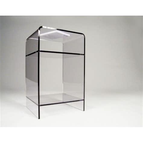 table de nuit plexiglas meuble plexiglas transparent d appoint carlo