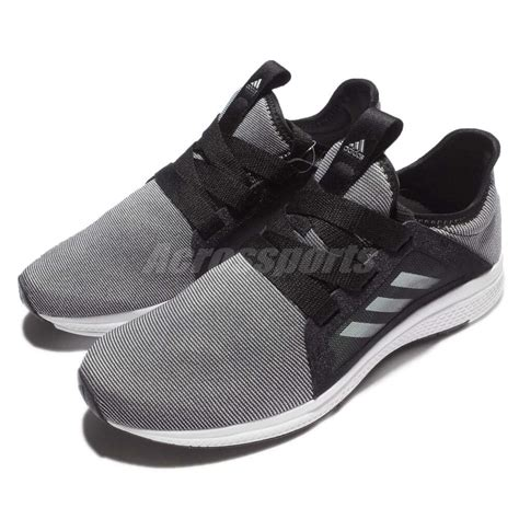 adidas edge w bounce black grey white running shoes sneakers bb8211 ebay