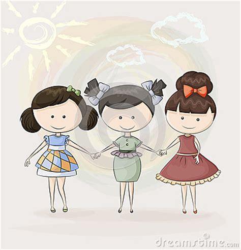 imagenes para tres amigas tres amigas felices fotos de archivo imagen 34483653