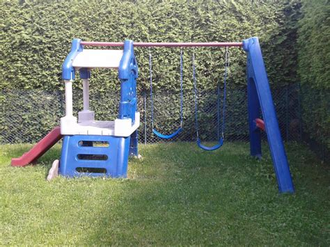 little tike swing set little tikes clubhouse swing set has to go orleans ottawa