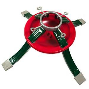 metal christmas tree stand 4 legs water dish to reduce