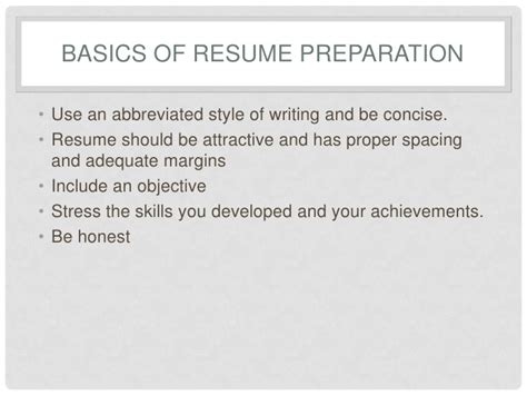 Resume Preparation Service by Resume Preparation Services