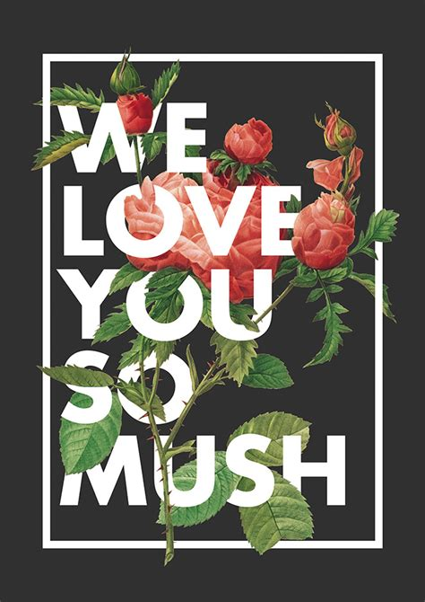 typography i you 40 floral typography designs that combine flowers text
