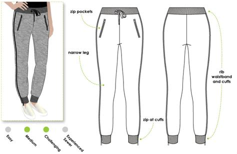 trouser pattern making pdf shelby sweat pant style arc