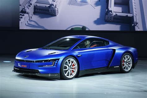 volkswagen sports car volkswagen unveils xl sports car