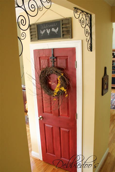 Pantry Paint Color Ideas by How To Paint Your Pantry Door Debbiedoos