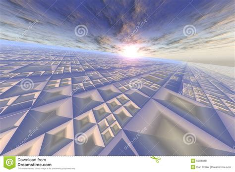 grid pattern in sky modern grid on sky horizon royalty free stock photos