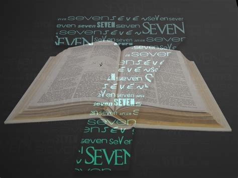 the importance of the number seven in the bible