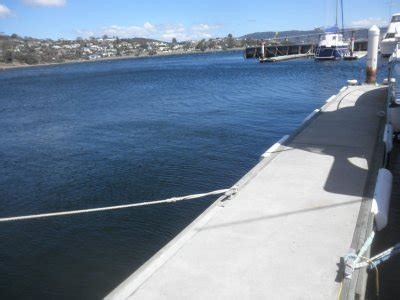 boat brokers hobart marina berth at the motor yacht club of tasmania