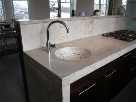 finishing concrete countertops how to a concrete