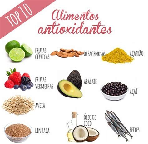 alimentos anti oxidantes alimentos top 10 antioxidantes cozinha pinterest