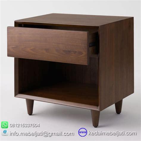 design nakas minimalis nakas modern minimalis kayu jati laci terbuka kedai