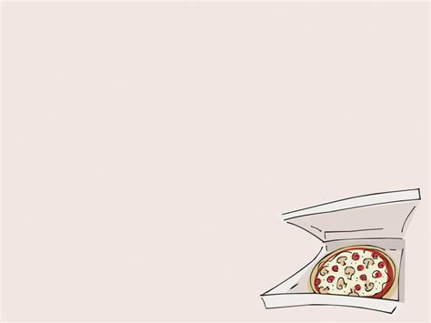 pizza powerpoint templates food drink free ppt