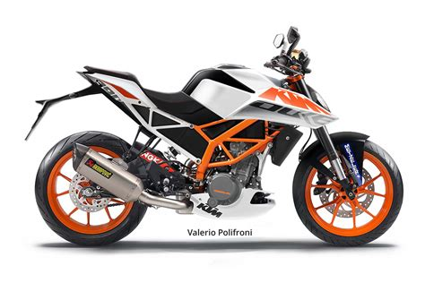 2017 KTM Duke 390 Rendered Via Spy Shots