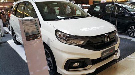 Honda Mobilio Rs 2017 by Honda Mobilio Rs Cvt 2017