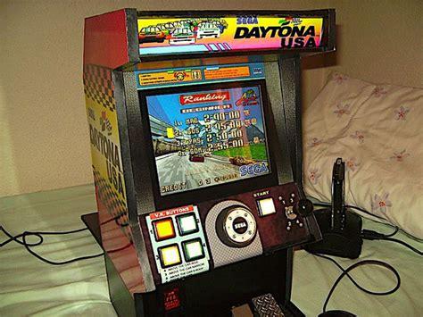 Original Xbox Arcade Cabinet by Diy Mini Daytona Arcade Cabinet