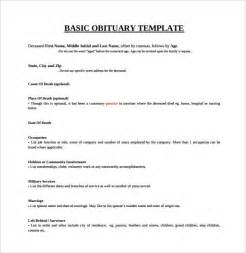 Funeral Program Template Download Sample Obituary Template 11 Documents In Pdf Word Psd