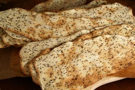 brio flatbread recipe semolina sesame flatbread crackers recipe
