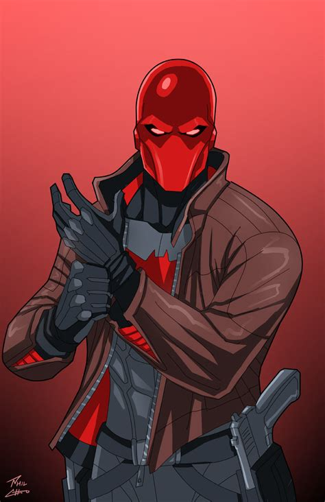 arsenal x reader red hood commission by phil cho on deviantart