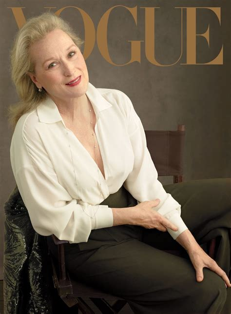 The Meryl Streep Covers Vogue by Another Beautiful Meryl Streep Vicki Archer