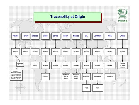 food traceability frozen fruit suppliers iqf fruit