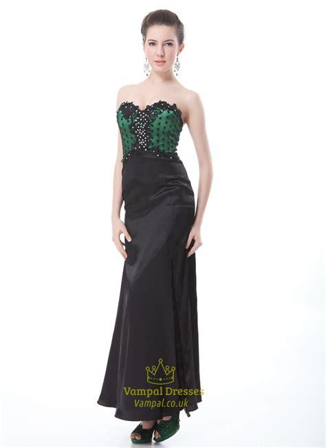 green cocktail black green black prom dresses prom dresses cheap