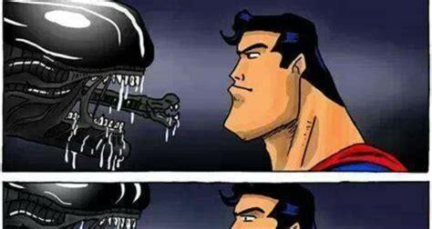 Superman And Batman Memes - alien vs superman meme collection