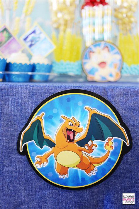 pokemon party ideas   set   pokemon candy bar
