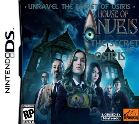 house of anubis music house of anubis the secret of osiris nintendo ds box art cover by dannymcdowely