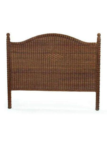 cottage wicker headboard cottage home 174